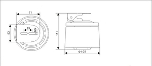 Image 5 - GZGMET Pan Surveillence Accessori Cctv 350 Gradi Impermeabile Esterna 485 di Ingresso Ccv Fotocamera Tastiera di Controllo Pan Tilt Motore