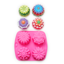 Silicone Soap Mold Moonake Mould Mousse Candy Chocolate Mould DIY Handmade Cake Decorating Tools new lipstick diy mold makeup handmade lip balm mould crafts tools kit silicone