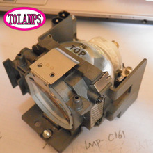 Lâmpada Do Projetor de Substituição com corpo da válvulapara LMP-C161 Sony VPL-CX70/VPL-CX75/VPL-CX76/VPL-CX71/VPL CX70/VPL CX71 /VPL CX75/VPL CX76