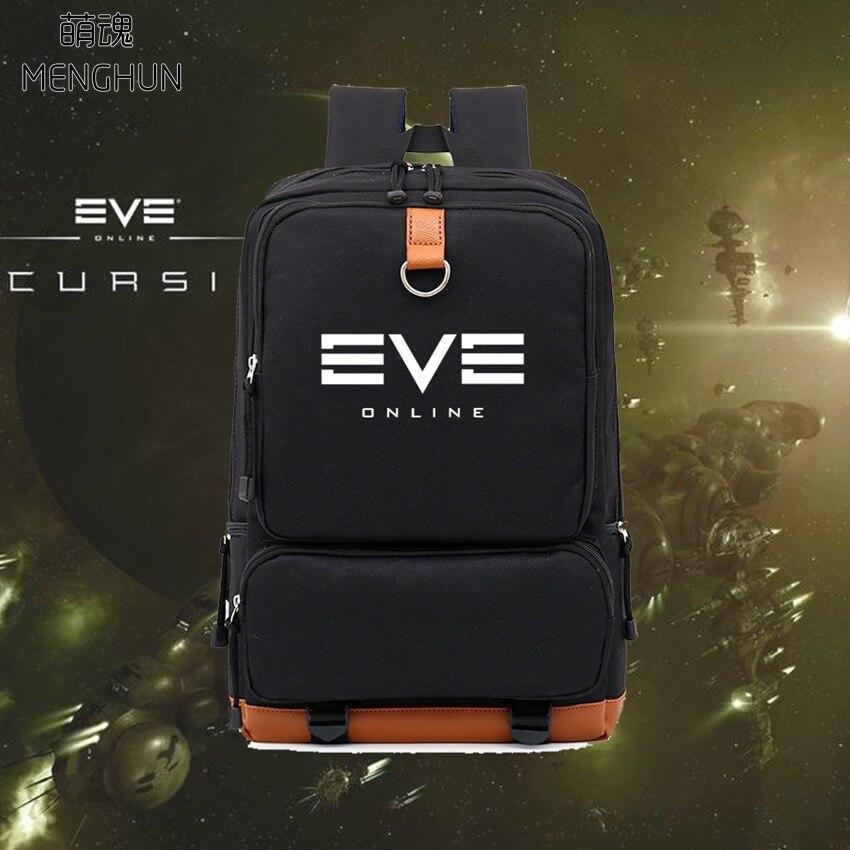 EVE online backpack EVE backpack game fans bags pc online game EVE backpack black high capacity nylon backpacks NB268 chauvet dj eve e 50z