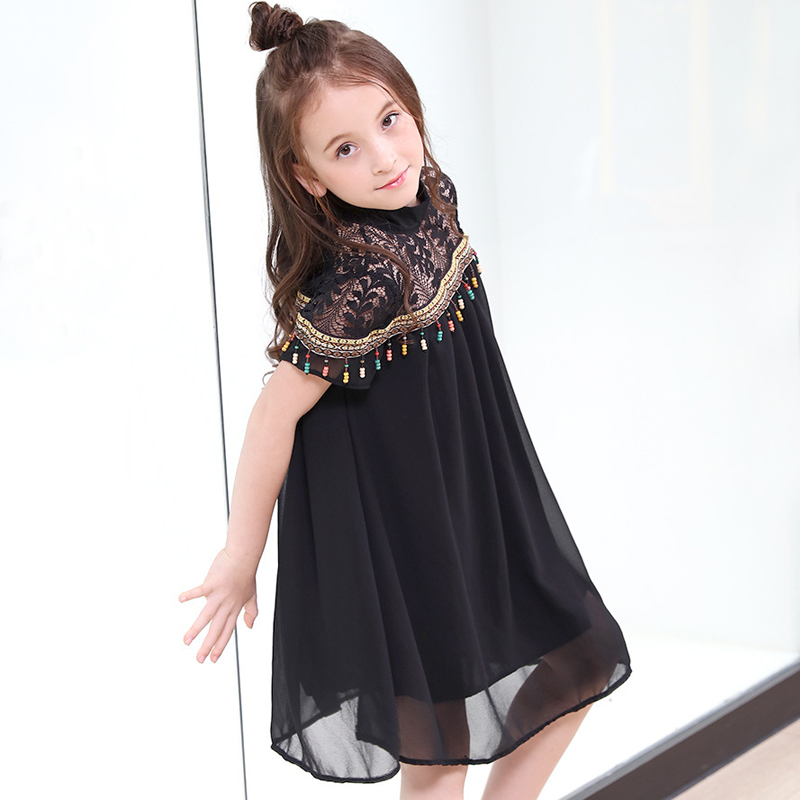 kids girl chiffon dress lace teen girl party dress 2018 summer teenage girls dresses size 4 5 6 7 8 9 10 11 12 13 14 15 years