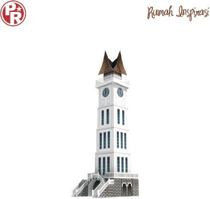 US $11 5 |Bern giant clock tower Xianer paper model paper world famous  architectural drawings-in Model Building Kits from Toys & Hobbies on