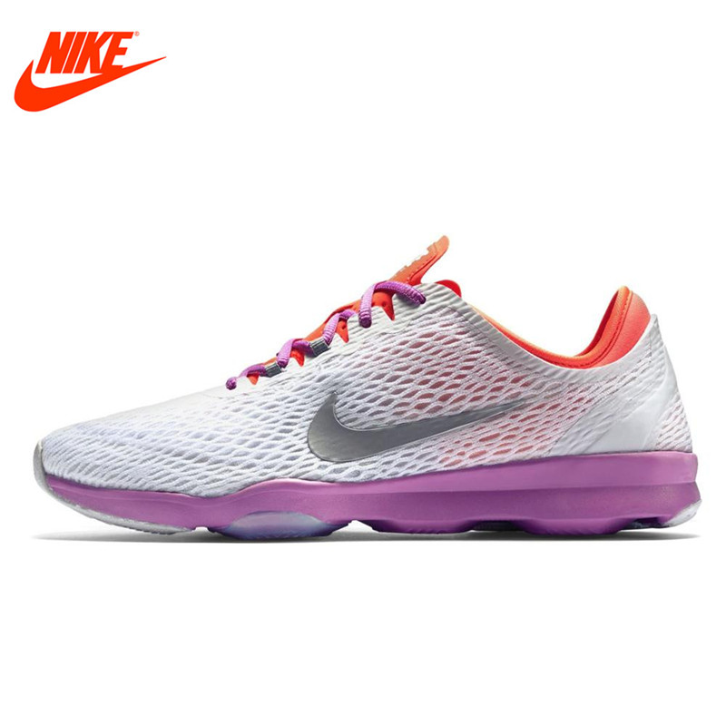 Original NIKE Breathable ZOOM FIT Women's Running Shoes Sneakers Outdoor Walking Jogging Sneakers Comfortable Fast