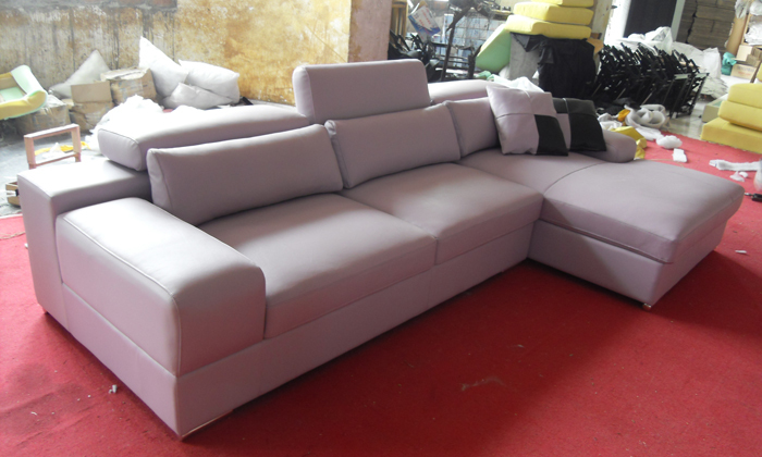 Free Shipping 2017 Latest House Designs Moden Leather Sofa Clic Furniture With Mini Corner Couch Lca002 1 In Living Room Sofas From