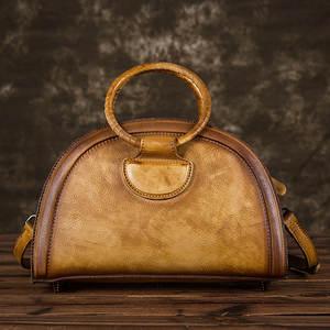 8a0c0ebd5e7d7 BAOERSEN Women Messenger Shoulder Genuine Leather Handbag