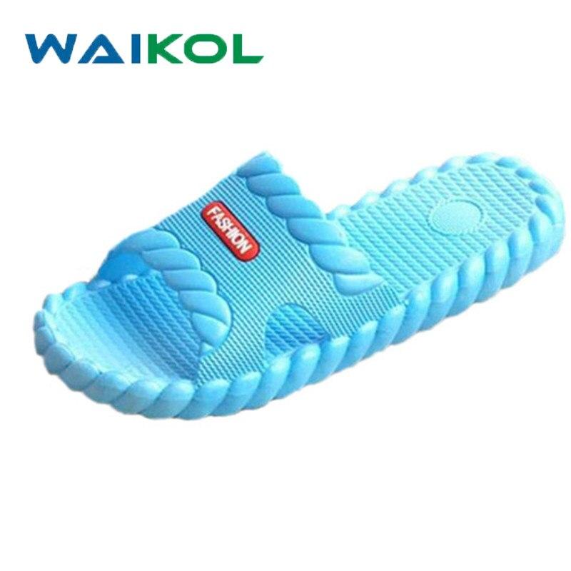 Waikol Hot Marketing Summer Bathroom Slipper Indoor Home Women Shoes Sandals marketing