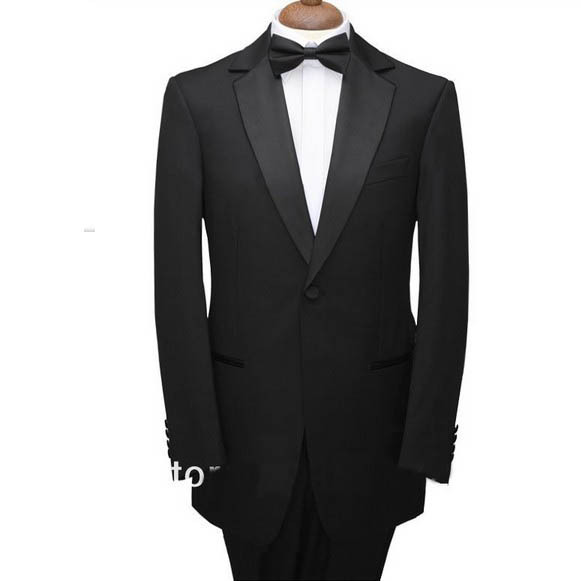 Custom Made To Measure Black Tailcoats With Left Chest Pocket,White Vest,Bespoke Long Tail Tuxedo,Tailored Evening Suits