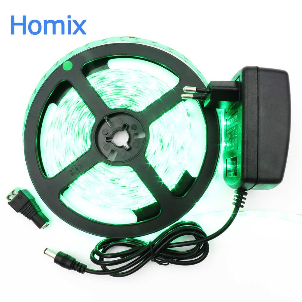 LED Strip Nhẹ 3528 SMD 5 M 300 leds 12 V Linh Hoạt LED Ribbon Diode Tape RGB & Màu Sắc Duy Nhất Ledstrip Chất Lượng Cao Fita DẪN