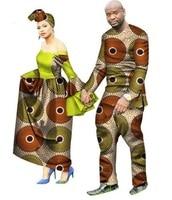 2018 new arrival african couples suits women dress&men suit plus size suits M 6XL