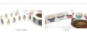 Image 5 - Cinta adhesiva jiataihe para impresión de colores, cinta adhesiva de arroz japonés, 45 unids/lote, 2291