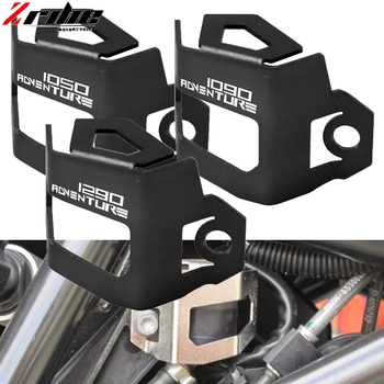 For KTM 1290 SUPER ADVENTURE Motorcycle CNC Rear Brake Fluid Reservoir Protective Cover Guard 1190 1050 Adventure