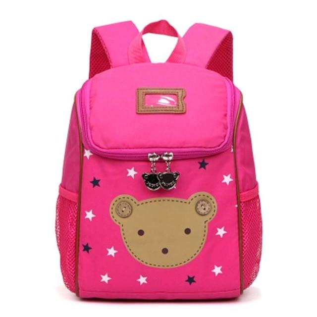 dcfdb02632 Cartoon Bear Children School Bag For Girls Pre-school Toddler Backpacks  Boys Kids Kindergarten Bag Mochila Escolar For Age 1-3