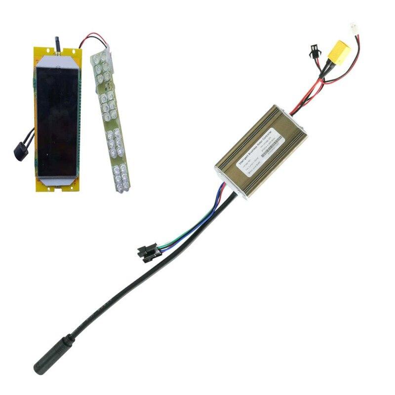 Contrôleur électrique Original de Scooter de KUGOO S1 S2 S3 36V + panneau d'écran d'affichage à cristaux liquides pour des accessoires de remplacement de Scooter électrique de 8 pouces