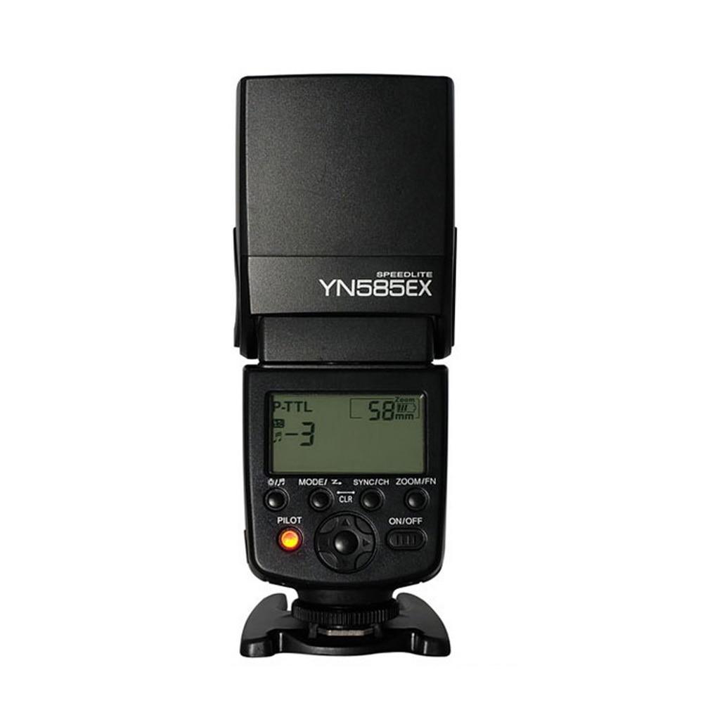 Yongnuo Flash YN585EX P-TTL Wireless Flash Speedlite for Pentax K-70 K-50 K-1 K-S1 K-S2 K3II K5 K50 KS2 K100 Camera new yongnuo flash yn585ex p ttl wireless flash speedlite for pentax k 70 k 50 k 1 k s1 k s2 k3ii k5 k50 ks2 k100 camera