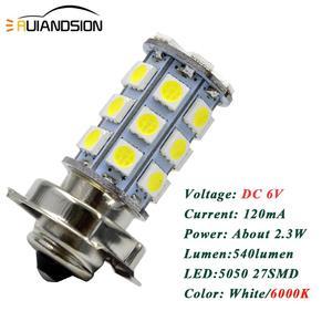 Image 5 - 2 chiếc P26S LED Moto rcycle Đèn Pha Blub DC 6 V 12 V 8 W 720LM 6000 K Moto ánh sáng 5050 27SMD Xe Tay Ga Accessoire Moto rbike đầu đèn