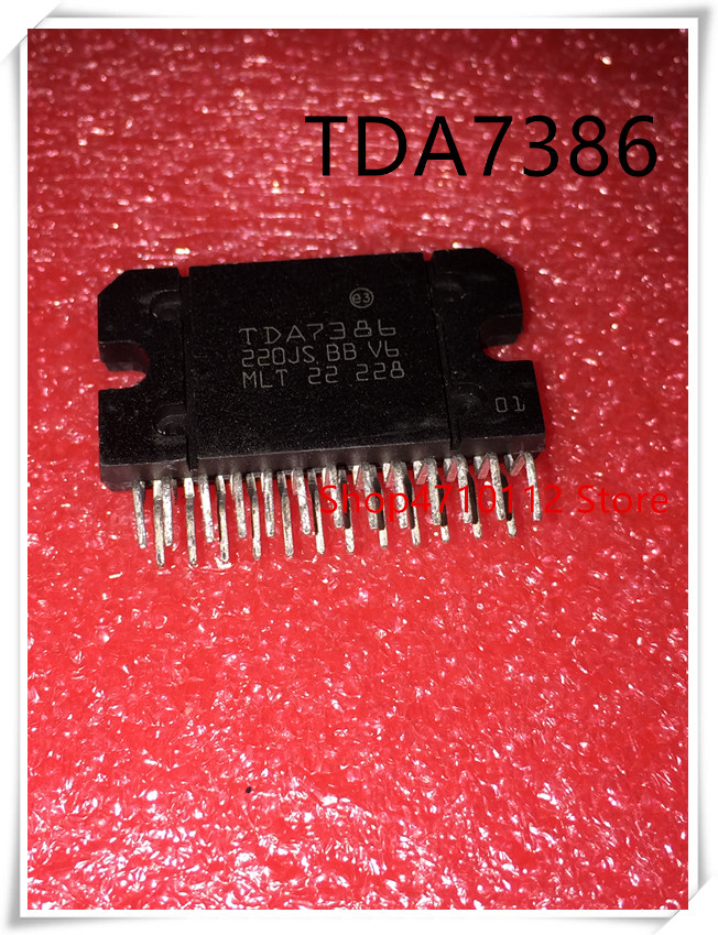2PCS IC TDA7386 ZIP-25 ST Amplifier Integrated Circuits NEW