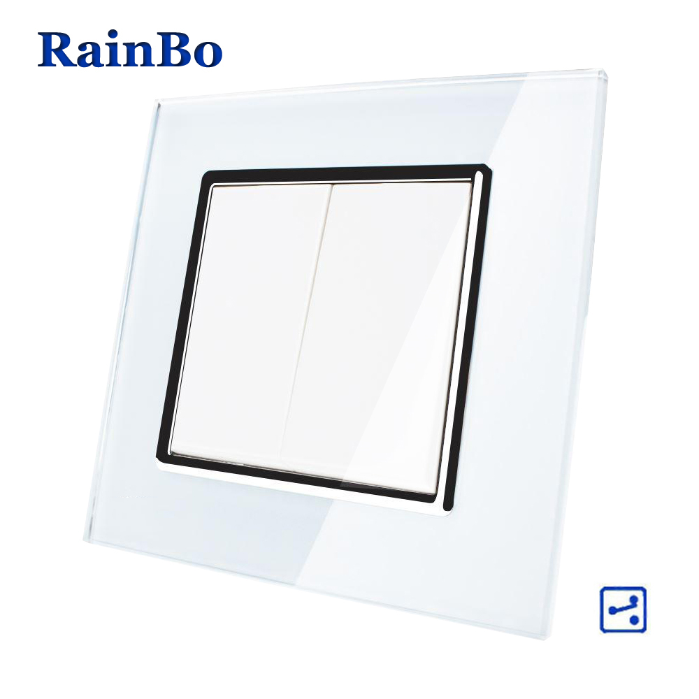 aliexpress com   buy rainbo brand manufacturer 2gang2way