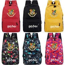 43c677de6ac6 Хогвартс Слизерин Гриффиндор мальчик девочка школьная сумка Для женщин  Bagpack школьная сумка для подростков холст Для мужчин ст.
