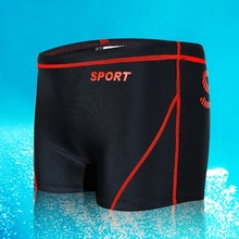 Hot Sexy Men Swimwear Brand AQUX Men's Swimsuits Surf Board Beach Wear Man Swimming Trunks Boxer Shorts Swim Suits