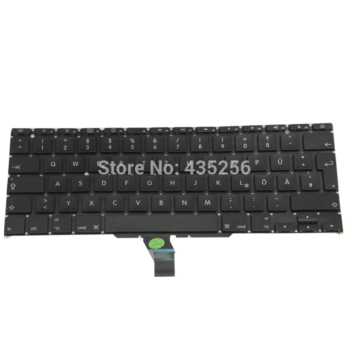 GER Keyboard For Macbook Air 11'' A1370 Germany MD711 MD712 MD223 MD224 MC968 MC969 MC505 MC506