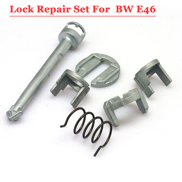 Free shipping Lock Cylinder Barrel Repair Kit For Bw E46 lock free shipping car lock cylinder repair kit for bw e46
