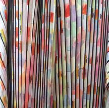 Art printing dyeing pattern fabric Chiffon pleated polyester Laser Dress diy textiles ankara sewing tulle C205