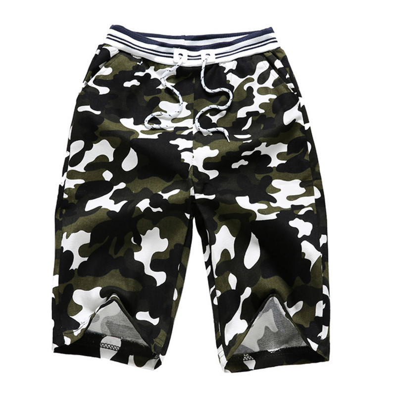 Camouflage Camo Cargo Shorts Men 2018 New Mens Casual Shorts Male Slim Work Shorts Man Military Short Pants Plus Size 3XL