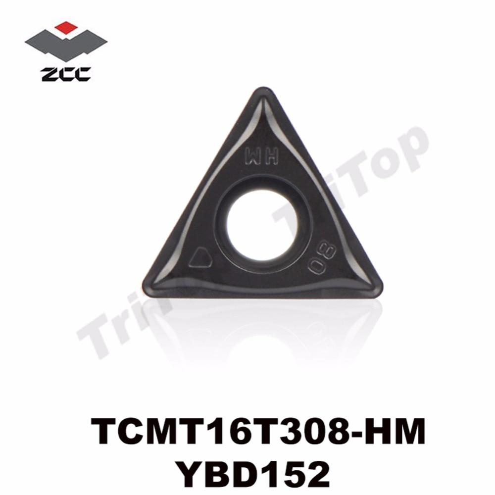 TCMT16T308 HM YBD152 TCMT 16T308 CNC turning inserts postive carbide plate TCMT16T308 semi finishing and finishing