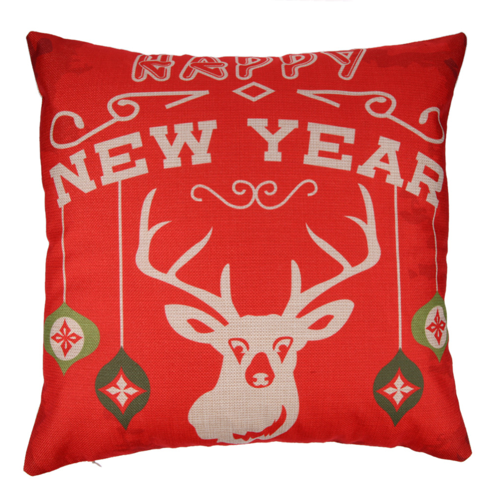 Gracious Home Decorative Pillows : Hot Christmas Decorative For Home Xmas Pillow Cover Ambience Decorative Square Pillow Case Cover ...