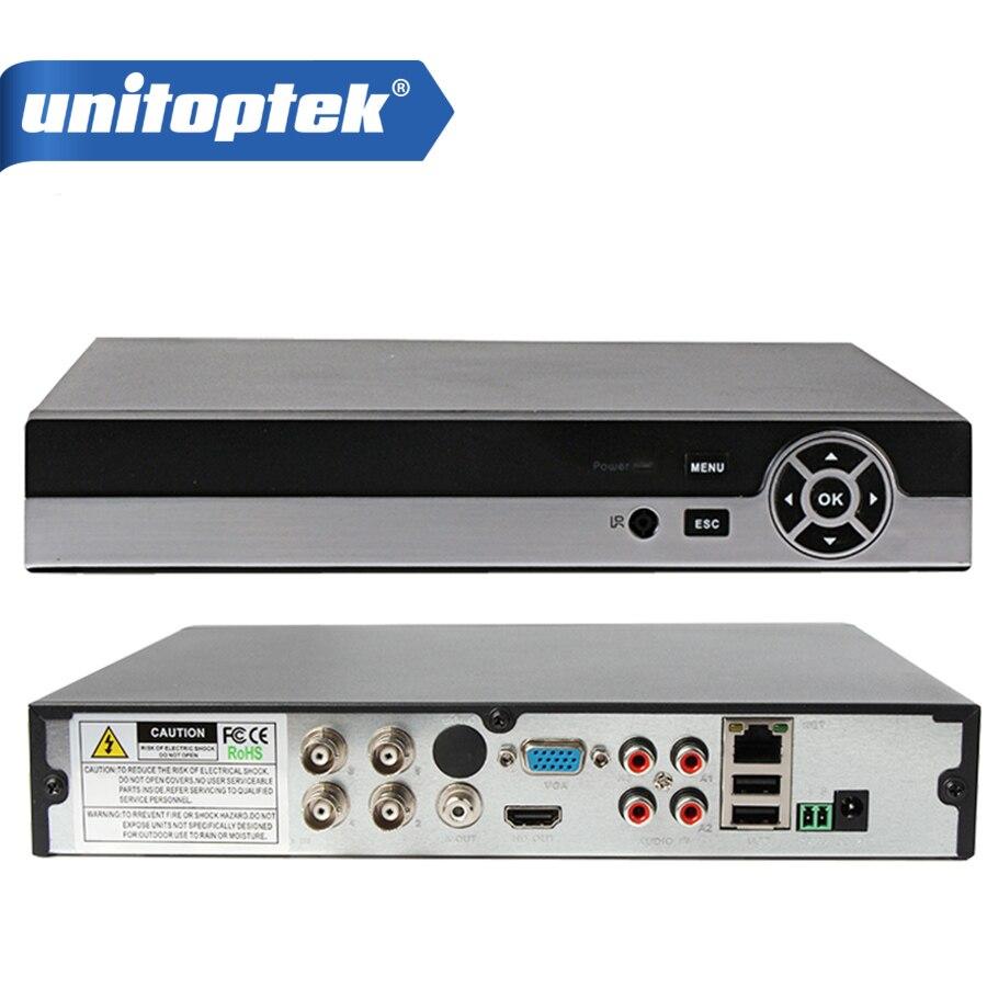 Multifunctional 4CH 1080P AHD-H CCTV DVR Hybrid DVR/1080P NVR Video Recorder AHD DVR For 2MP AHD/Analog Camera IP Camera