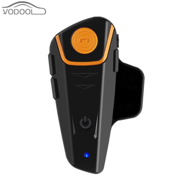 BT-S2 1000m Range Motorcycle Helmet Navigator Full Duplex Interphone Motocicleta Bluetooth Intercom Headset Sp. FM Radio A2DP