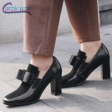 KemeKiss Plus size 33-43 Women Genuine Leath High Heels Boots Square toe Real Leather Ankle Boots Winter Shoes Women Ladies Sexy цены онлайн