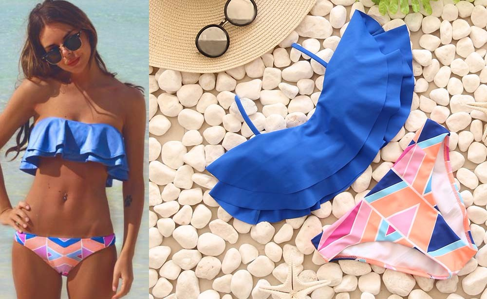 Swimwear Women Swimsuit Push Up Swimwear Female 19 Sexy Bandeau Bikini Ladies Brazilian Beach Bathing Suit bandage Bikini Set 14