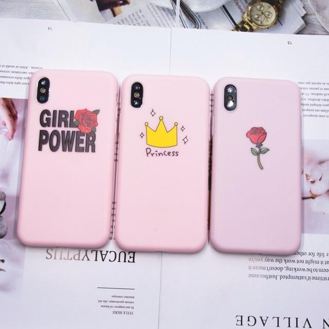 coque iphone 8 plus girl power