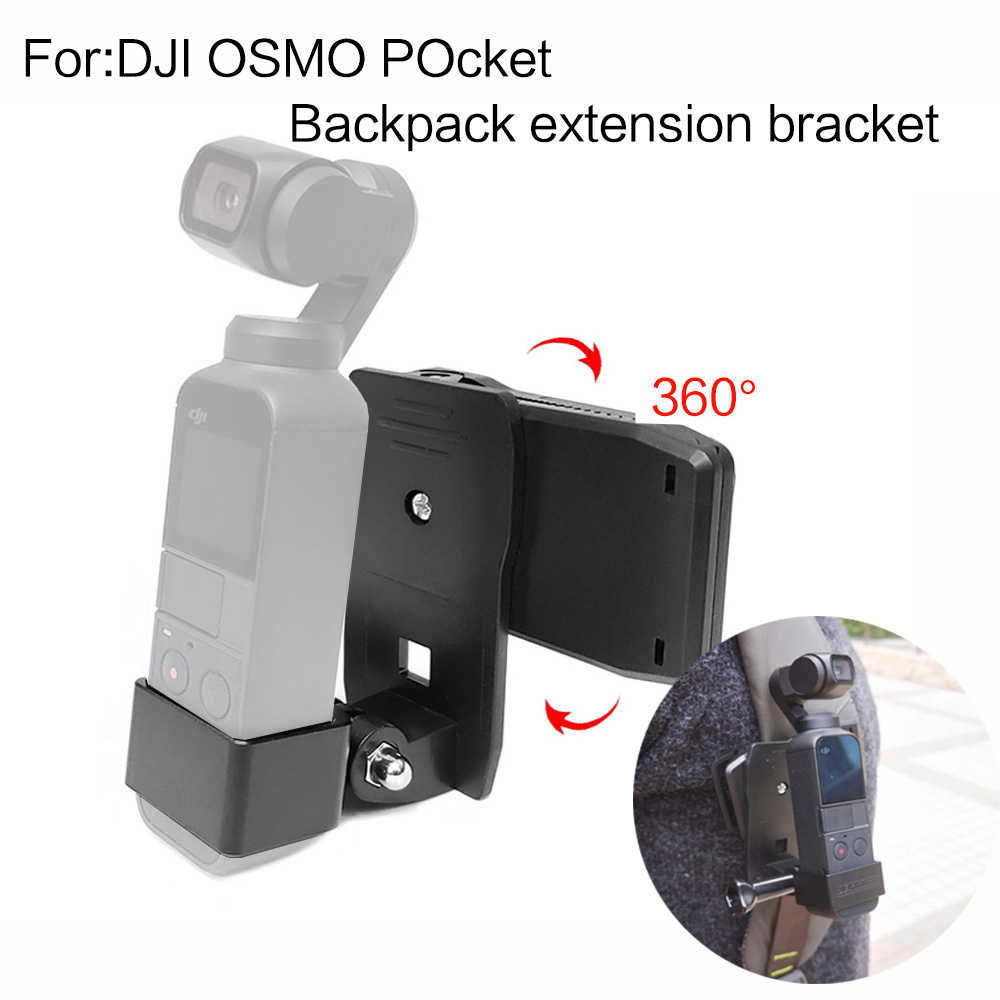 TUYU Backpack Clip for DJI OSMO Pocket Handheld Stand Expansion Bracket Gimbal Accessories