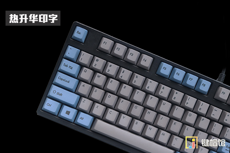 Dye sub 105 PBT keycaps for mechanical keyboard PBT keycap cherry mx dye sub keys poker 61 keyboard ANSI dye sublimation цена