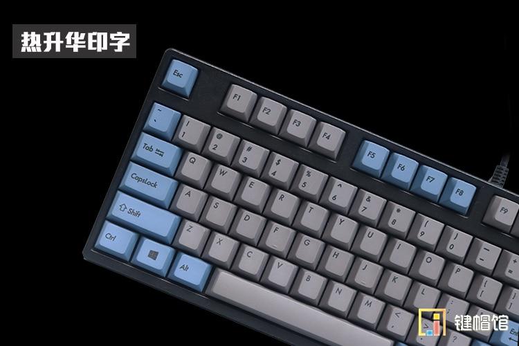 все цены на  Dyesub 105 PBT keycaps for mechanical keyboard PBT keycap cherry mx profile step cap poker 61 keyboard ANSI dye sublimation  онлайн