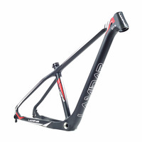 Ламинар 27,5 углеродное волокно горный велосипед рама 15/19 дюйм(ов) Высокая все углеродное волокно Высокая сталь внедорожный лес трек автомоби