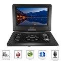 GKN-101 10.1Inches Home Portable DVD Player Portatil 16:9 TFT Screen Pixe 1024 * 600 SD/USB/AV for Gamepad TV DVD/CD/MP3 US/EU