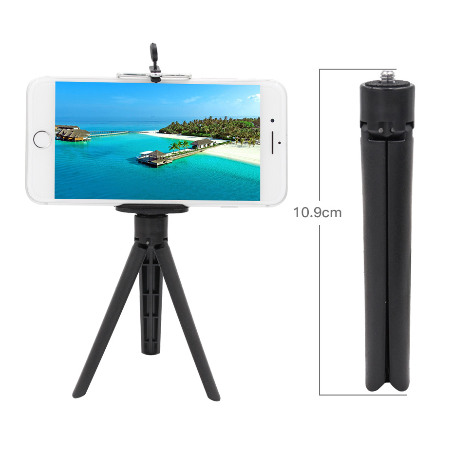 Flexible Mini Camera Tripods Smartphone Tripod Mobile Phone Mount Holder Tripod for Go pro Xiaomi Samsung Android Phones Tripod