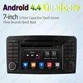 """7 """"7-дюймовый Android 4.4.4 Четырехъядерный Автомобильный DVD GPS Радио Головного Устройства Для Mercedes Benz ML W164 (05 ~ 12) ML300/ML350/ML450/ML500 # CA4617"""
