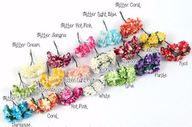 3 Cm Artificielle Bouquets De Fleurs Papier De Soie Fleurs Mini
