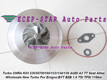 Turbo картридж КЗПЧ K03 53039700160 53039700134 53039700136 53039700112 53039700123 06J145701R для Audi A3 TT для сиденья Altea