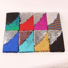 3 Pieces/ lot Novelty Glitter NoteBooks Colorful Sequins For Kids Girls Gifts Kawaii School Office Cute Stationery