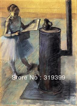 Oil Painting Reproduction on Linen Canvas,Dancer resting by edgar degas ,Free DHL Shipping,handmade,Museum Quality