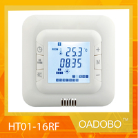 230V LCD Programmable Electric Digital Floor Heating Room Thermostat White Weekly Warm Floor Controller 16A