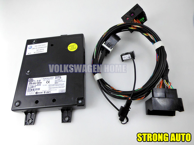 oem vw rcd510 9w2 bluetooth module plug play harness. Black Bedroom Furniture Sets. Home Design Ideas