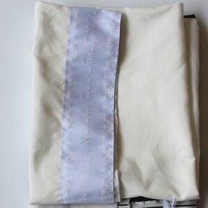 Image 5 - 74x20 дюймовая Черная шаль для молитв с изображением города история с сочетающейся сумкой еврейские высоты