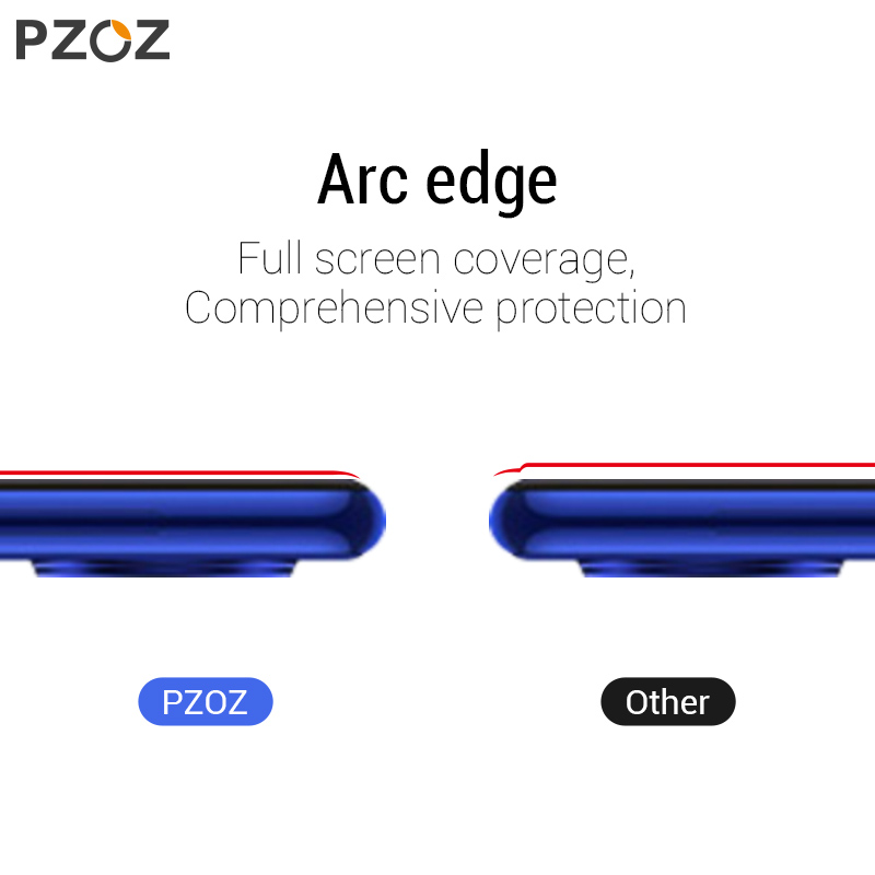 Image 5 - PZOZ For Xiaomi Redmi Note 7 8 K20 Pro 7A Screen Protector Full Cover Tempered Glass For Xiaomi Mi CC9e A3 9 Mi9 Protective Film-in Phone Screen Protectors from Cellphones & Telecommunications