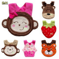 Kids Girl Boy Baby Bibs Burp Cloths Lunch Bibs Animals Cotton Saliva Towel waterproof Infant Bibs Wholesale factory price 200pcs